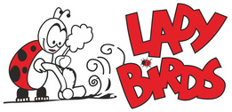 Ladybirds Cleaning Logo